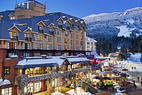 Beste hoteller i Whistler Blackcomb