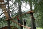 Adventure Park Kolfuschg Colfosco - ©Hochseilgarten Colfosco