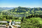Ausblick auf Kitzbühel