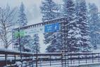 Snowbird - Snowing crazy today. 9