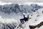 Red Bull Snow Thrill - Sprungstudie mittels Stromotion-Technolofie - ©Denis Balibouse