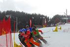Ski Cross: Europacup-Rennen in Zermatt vom Winde verweht - ©Patrick Gautschy