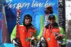 Goldfestival für das deutsche paralympische Skiteam - ©Michael Hipp