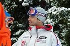Christoph Gruber besiegt den Herminator beim Super-G von Garmisch - ©XNX GmbH