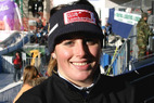 Andrea Fischbacher Junioren-Weltmeisterin im Super-G - ©G. Löffelholz / XnX GmbH