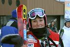 Lindsey Kildow fährt schnellste Zeit beim Abschlusstraining in Cortina - ©G. Löffelholz / XnX GmbH