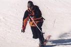Die zentrierte Telemark-Haltung - ©www.freeyourheel.de