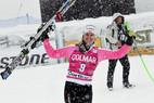Cortina : Viktoria Rebensburg dompte les éléments - ©Agence Zoom
