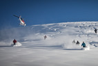 OTS Heli/Cat Guide: Tyax Lodge Heli-Skiing - ©Randy Lincks/Andrew Doran