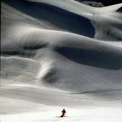 Skifahren im Libanon: Mzaar, Libanongebirge - ©Christoph Schrahe