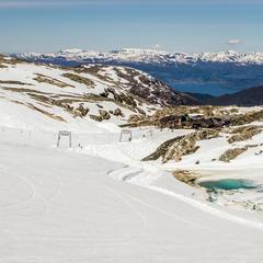 Auf dem Weg zum Gipfel in der Weißsee Gletscherwelt - ©Jan Petter Svendal