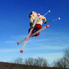 SkiBrule airborne