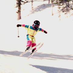 Ligety airtime - ©Ligety Family Photos