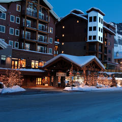 Slopeside accommodations at the Lodge at Mountaineer Square in Crested Butte.