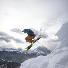Storm Gallery: Nothin' but Powder in Lake Louise - ©Liam Doran