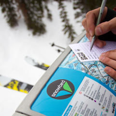 OnTheSnow Ski Test and Snowbird are a match made in skier heaven. - ©Cody Downard Photography