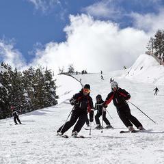 Sur les pistes de ski de Vallnord - ©OT Vallnord