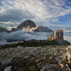Cortina, panorami mozzafiato anche d'estate sulle Dolomiti