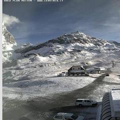 Cervinia, neve fresca sulle webcam - 15 Ottobre 2015 - ©Cervinia