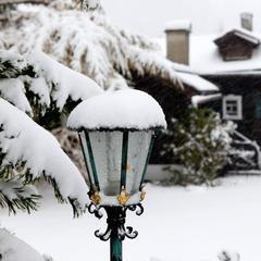 Impressionen vom ersten Schneefall in Lech Zürs (22. Oktober 2014)