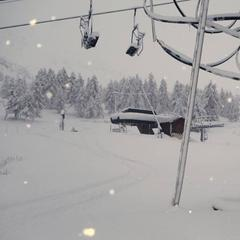 The heavy snow Avoriaz last week (pic Nov. 6) will be followed by another 35cm this weekend.