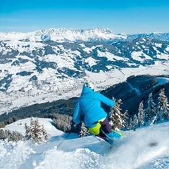 Stunning views on the slopes of Kitzbuehel - ©Corinna Heim