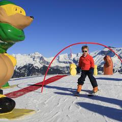 enfant ski samoens - ©Office de Tourisme de Samoëns