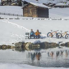 Fat biking in Livigno - ©Livigno