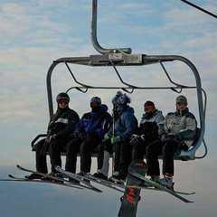 Blue Mountain ONT chairlift