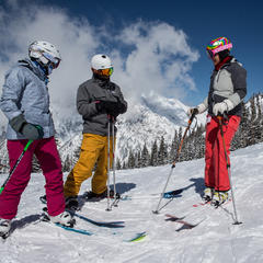 Ski Test day three - ©Liam Doran