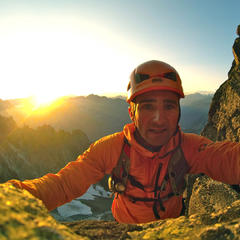 Ueli Steck am Mont Blanc - ©www.uelisteck.ch