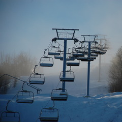Calabogie chairlift to the clouds