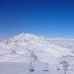 Sainte Foy Tarentaise - great snow after two consecutive snowfalls