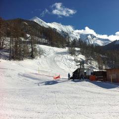Serre Eyraud - Journée de rêve sur les pistes de Serre Eyraud : neige extra fraîche et grand ciel bleu