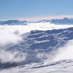 Flims Laax SUI scenic