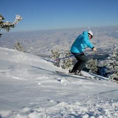 Pre výber správnych lyží určite v akých terénoch chcete lyžovať - ©Sherri Harkin
