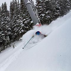 Deepness under the Jackson Hole Thunder lift - ©Courtesy of Jackson Hole Mountain Resort