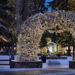 Jackson's historic town square - ©Visit Jackson Hole