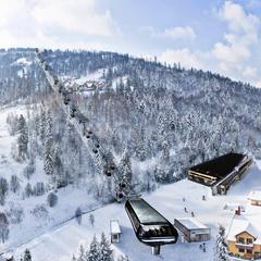 Vizualizace - lyžařské středisko v polském Szczyrku - ©archív TMR