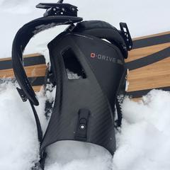 Now O-Drive snowboard bindings - ©Jurgen Groenwals