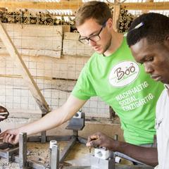 Mit einem Bambusrad durch Westafrika - ©www.pd-f.de / my Boo