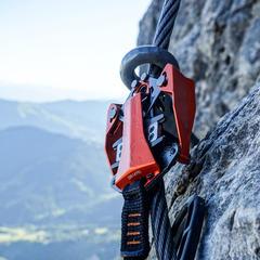 Die Seilbremse am Rider 3.0 bietet ein hohes Maß an Sicherheit - ©Bergleben.de
