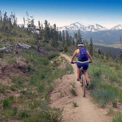 Breck biking - ©James Robles