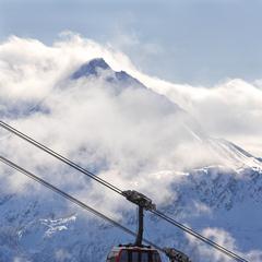 Whistler, Canada: la cabinovia Peak 2 Peak. Foto di Paul Morrison