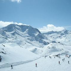 Skifahren Les Menuires 2012 - ©Markus Hahn