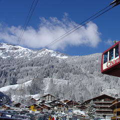 Champery tram