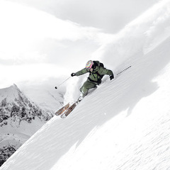 Aurlien Ducroz testeur de renom des skis freeride de Dynastar