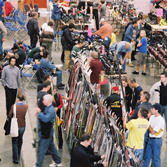Gear deals are available at the Calgary Snow Show.. Photo courtesy of CanWest Productions.