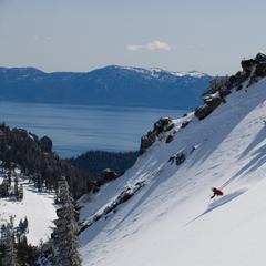 Top snowboarding resort: Alpine Meadows
