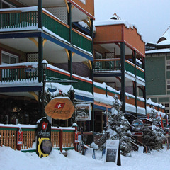 The village at Silver Star has lodging, shopping, and dining. Photo by Becky Lomax.
